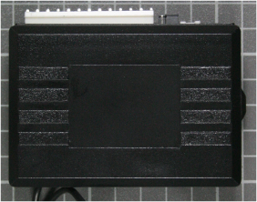 Non-compliant central locking system, receiver front view