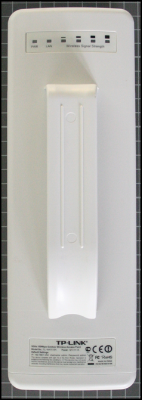 Non-compliant wireless access point rear view