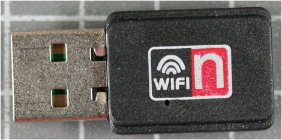 Non-compliant RLAN/WLAN front view