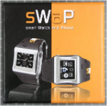 Non-compliant watch with mobile phone, packaging