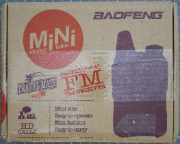 BAOFENG BF-T1 - Packaging