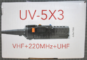 BAOFENG BTECH UV-5X3 - Packaging