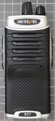 Non-compliant UHF two-way radio front view