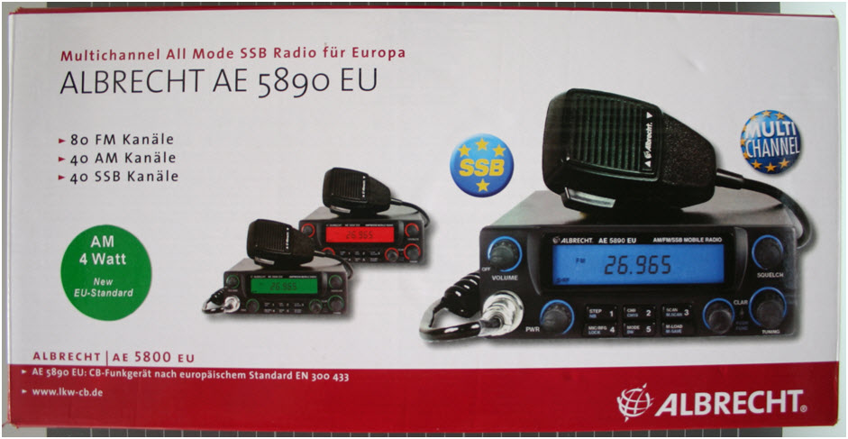 ALBRECHT AE 5890 EU - Packaging