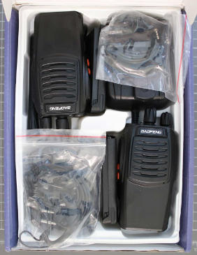 Non-compliant PMR radiocommunications equipment - overall view