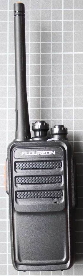Non-compliant PMR 446 two-way radio front view