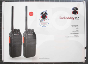 RADIODDITY R2 (PMR 446) - Packaging