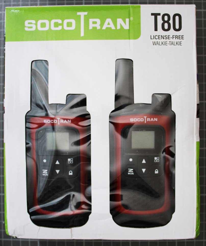SOCOTRAN T80 - Packaging