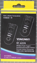 YONGNUO RF-603 (RF-603 N/C) - Packaging