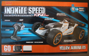 Non-compliant radio controlled car - packaging