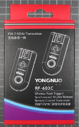 YONGNUO RF-603C - Packaging