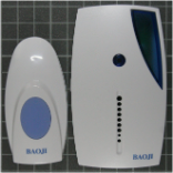Non-compliant wireless door bell front view