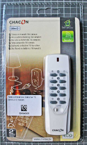 Non-compliant remote control - Packaging