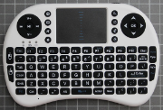 Non-compliant mini keyboard front view