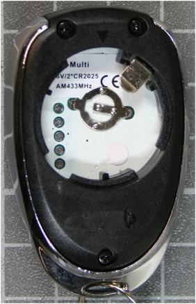 Non-compliant remote control inside view