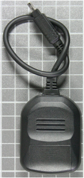 Non-compliant remote control for digital camera rear view
