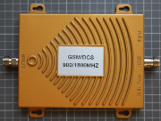 Non-compliant GSM/DCS repeater view from top