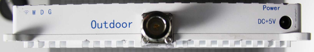 Non-compliant GSM repeater side view
