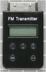Non-compliant FM Transmitter front view