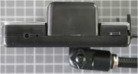 Non-compliant FM-Transmitter side view