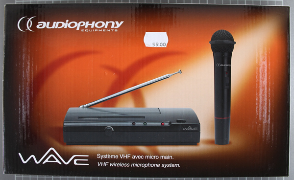 AUDIOPHONY WAVE F2 - Packaging