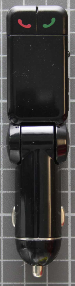 Non-compliant FM-Transmitter front view