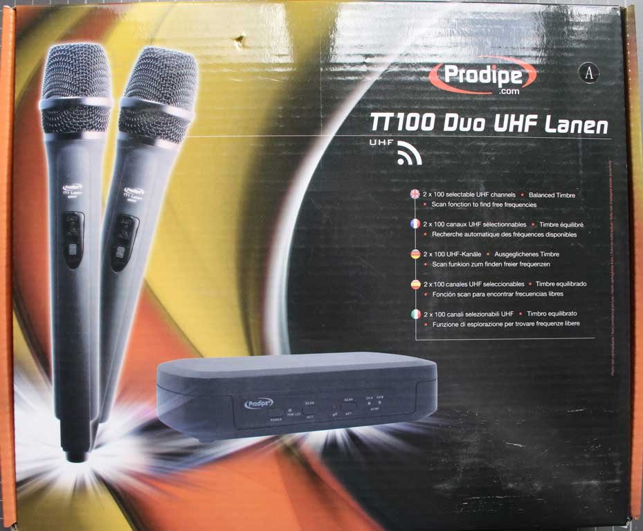 PRODIPE TT100 DUO UHF LANEN - Packaging