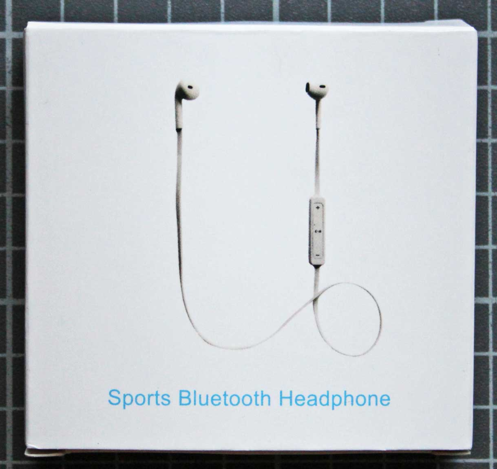 Non-compliant wireless headphones - Packaging