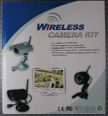 Non-compliant wireless camera - packaging