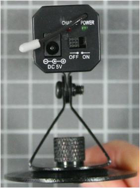 Non-compliant wireless camera rear view