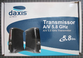 Non-compliant wireless a/v transmission system