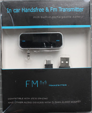 FM-Transmitter non-conforme - emballage