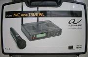 ALPHA AUDIO MIC ONE TRUE WL - Emballage