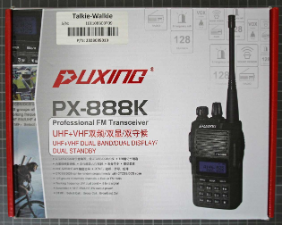 PUXING PX-888K - Emballage
