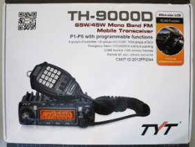 TYT TH-9000D - Emballage